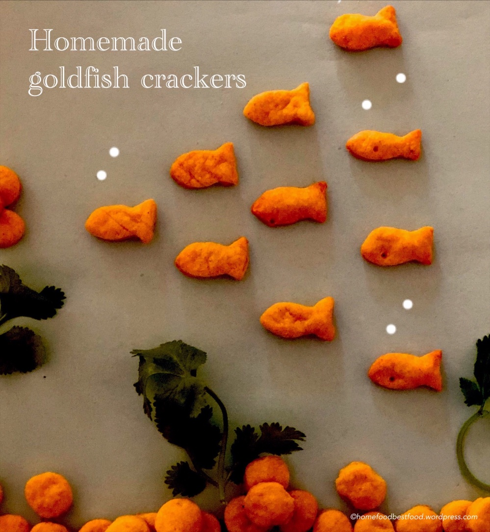 Homemade whole-wheat Goldfish Crackers – HOME FOOD BEST FOOD